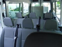Spezialfahrzeug mit bis zu 8 Sitzplätzen