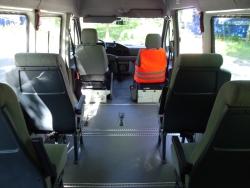 Spezialfahrzeug Rollstuhltransport